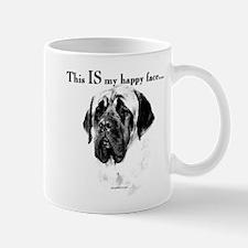 Mastiff Happy Face Mug