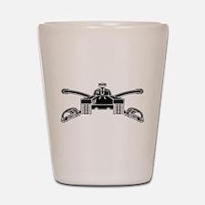 Armor - B-W Shot Glass