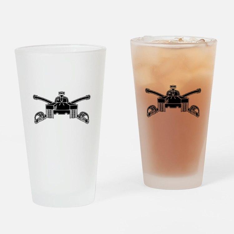 Armor - B-W Drinking Glass