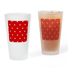 'Cherry Red' Drinking Glass