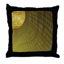 Disco Mirror Ball Throw Pillow