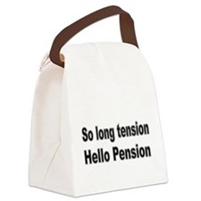So long tension Canvas Lunch Bag