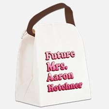 Future Mrs Aaron Hotchner Canvas Lunch Bag