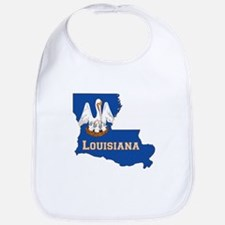 Louisiana Flag Bib