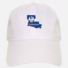 Louisiana Flag Baseball Baseball Cap