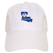 Louisiana Flag Baseball Cap