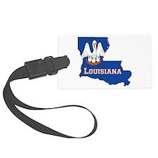 Louisiana Flag Luggage Tag