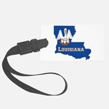 Louisiana Flag Luggage Tag