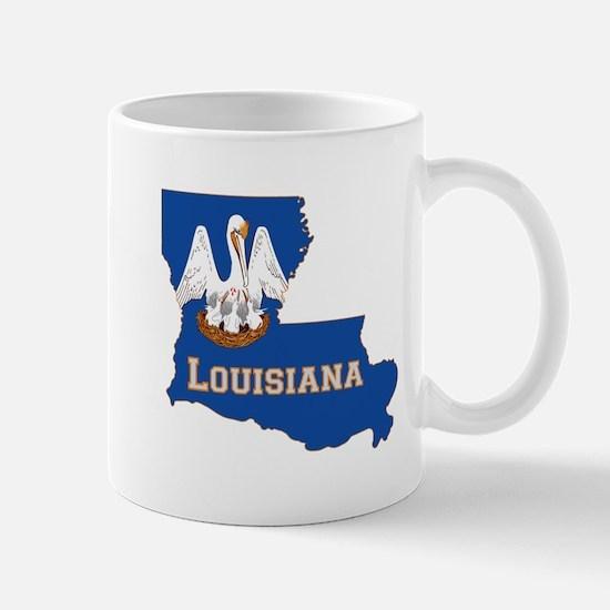 Louisiana Flag Mug