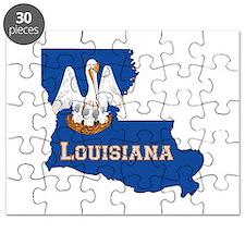 Louisiana Flag Puzzle