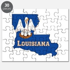 Louisiana Flag Puzzle