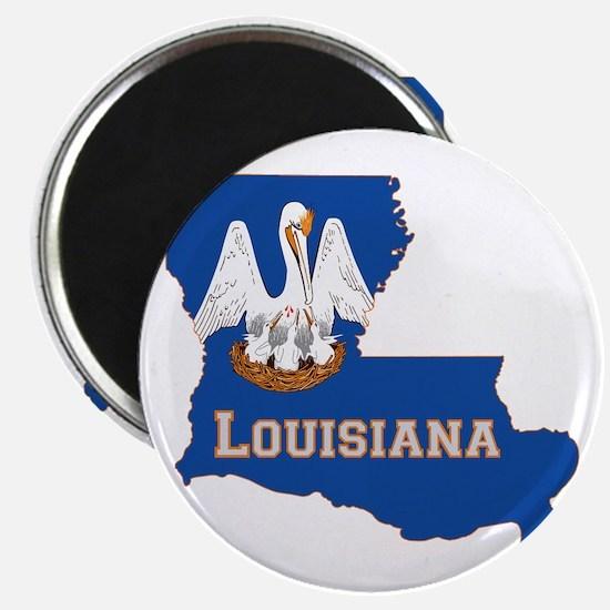Louisiana Flag Magnet