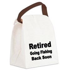 Retired Canvas Lunch Bag