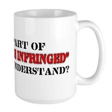 Shall not be infringed Mug