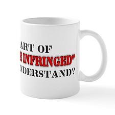 Shall not be infringed Mug