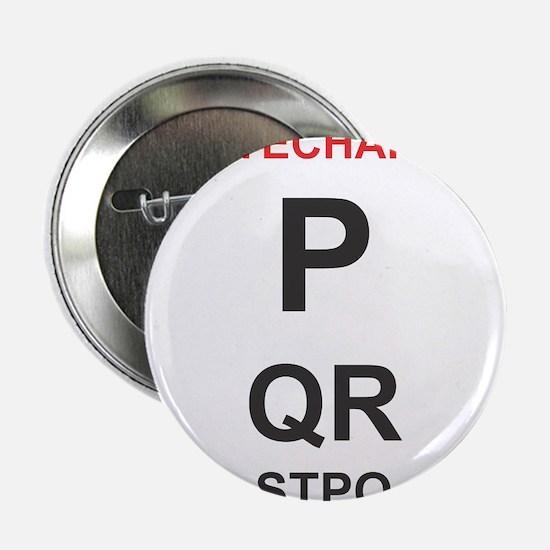 """Cardiology Eyechart 2.25"""" Button"""