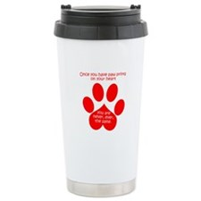 Paw Prints Travel Mug