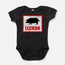 lechonNoMid.png Baby Bodysuit