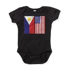 PIUSflagsPeacetime.jpg Baby Bodysuit