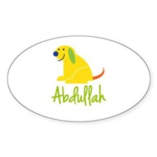 Abdullah Loves Puppies Decal