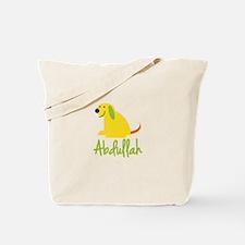 Abdullah Loves Puppies Tote Bag
