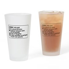 Child Definition Apologize Drinking Glass