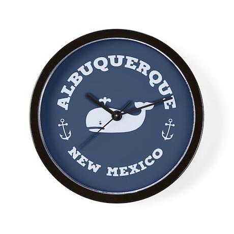 Albuquerque Whale Tours Wall Clock