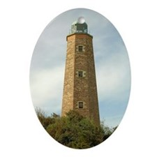 Old Cape Henry Lighthouse Oval Ornament