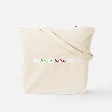 Half Gaelic Half Garlic Tote Bag