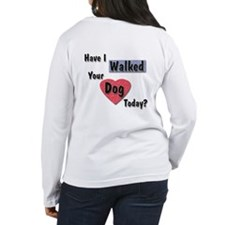 Professional/Walked Dog? Women's Long Sleeve Tee