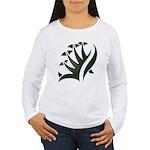 Tribal Frond Women's Long Sleeve T-Shirt