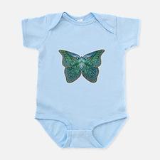 Peacock Butterfly Infant Bodysuit
