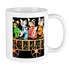 Wagon full of cats Mug