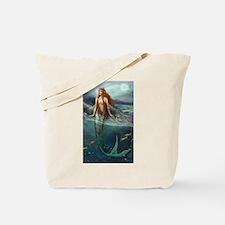 Mermaid of Coral Sea Tote Bag