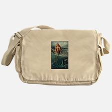 Mermaid of Coral Sea Messenger Bag
