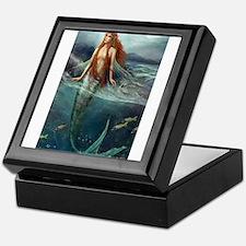 Mermaid of Coral Sea Keepsake Box