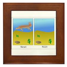 Newt and nüüt Framed Tile