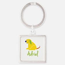 Adriel Loves Puppies Keychains