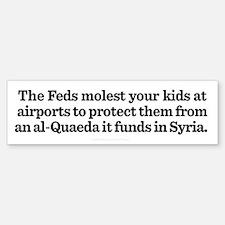 Syria and Security Bumper Bumper Bumper Sticker