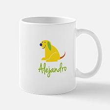Alejandro Loves Puppies Mug