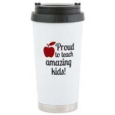 Proud Teacher Travel Mug