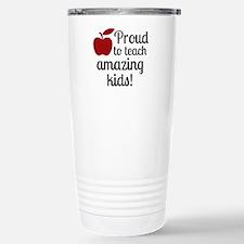 Proud Teacher Travel Mug