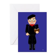 Nuckers™ Beatnik - 10p. Greeting Cards