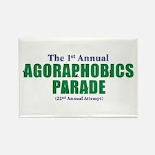 Agoraphobics Parade Rectangle Magnet