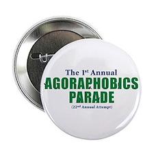 Agoraphobics Parade Button