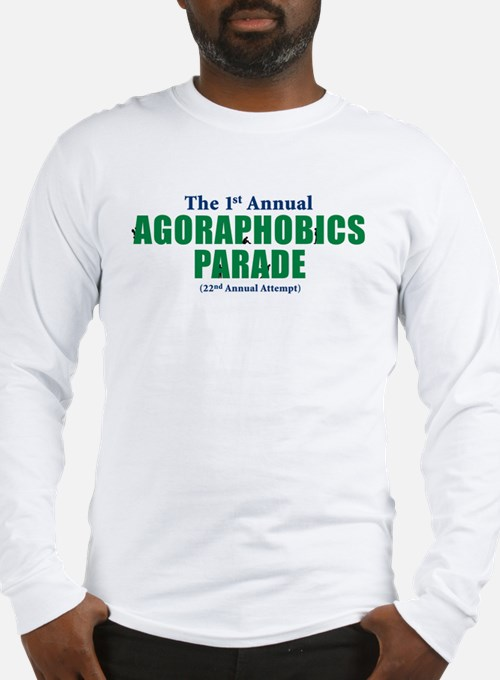 Agoraphobics Parade Long Sleeve T-Shirt