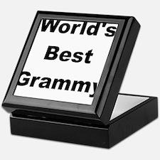 WORLDS BEST GRAMMY Keepsake Box