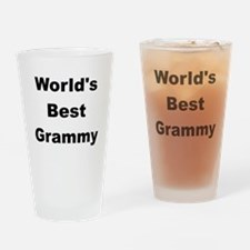 WORLDS BEST GRAMMY Drinking Glass