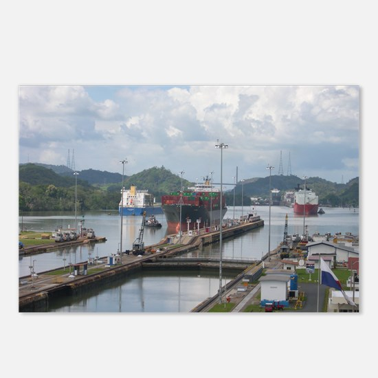 Panama Canal, Miraflores Postcards (Package of 8)