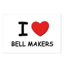 I love bell makers Postcards (Package of 8)